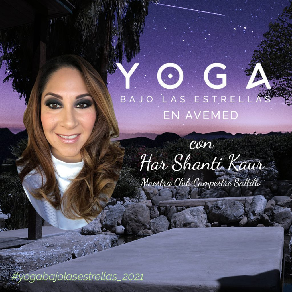 yoga bajo las estrellas